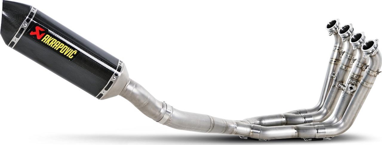 【AKRAPOVIC】Evolution Line (4-2-1) 碳纖維全段排氣管 (碳纖維尾蓋消音器)  - 「Webike-摩托百貨」
