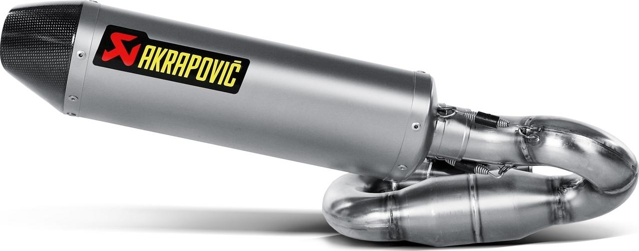 【AKRAPOVIC】e1型式 Line 鈦合金排氣管尾段 - 「Webike-摩托百貨」