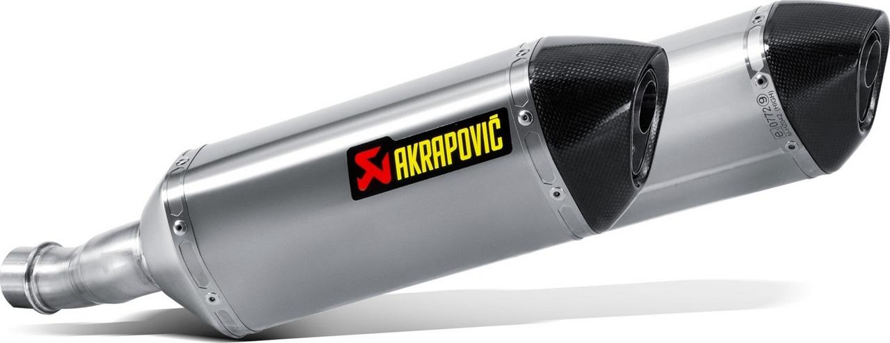 【AKRAPOVIC】e1型式 鈦合金排氣管尾段  - 「Webike-摩托百貨」