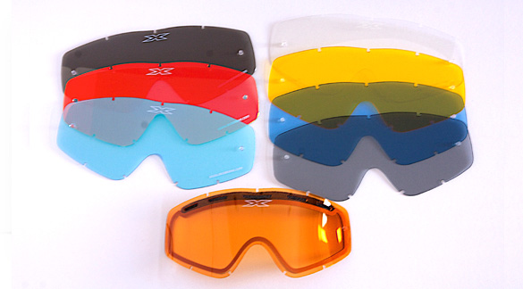 【EKS (X) Brand】GOX 滑雪板/雪地越野風鏡用 Benteddo鏡片 【選配】 - 「Webike-摩托百貨」