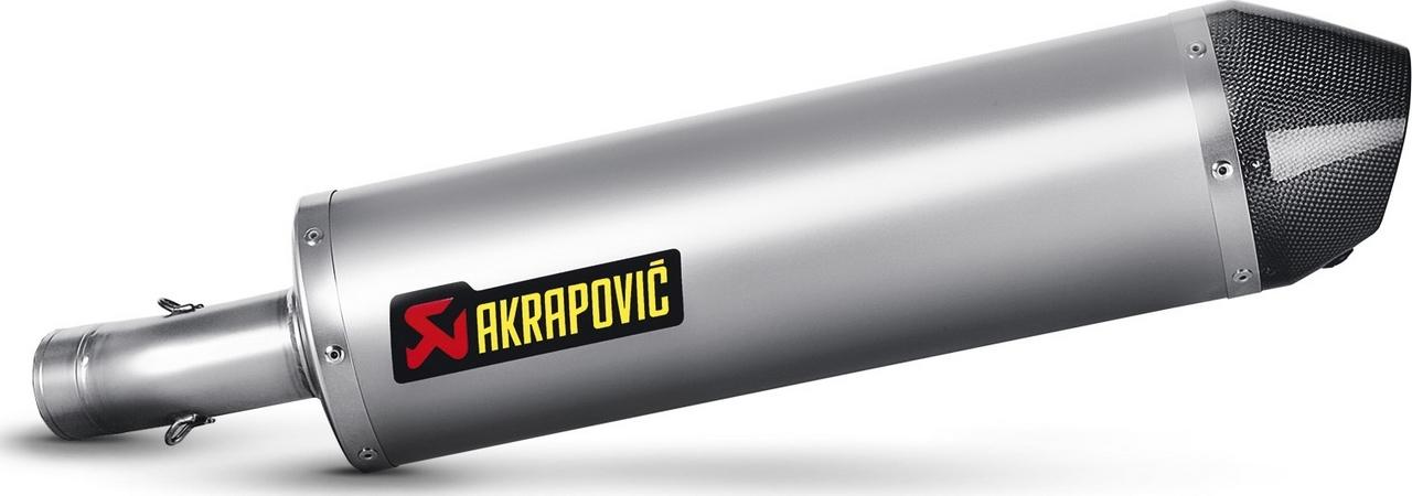 【AKRAPOVIC】e1型式 Line 鈦合金排氣管尾段 (碳纖維尾蓋消音器)  - 「Webike-摩托百貨」