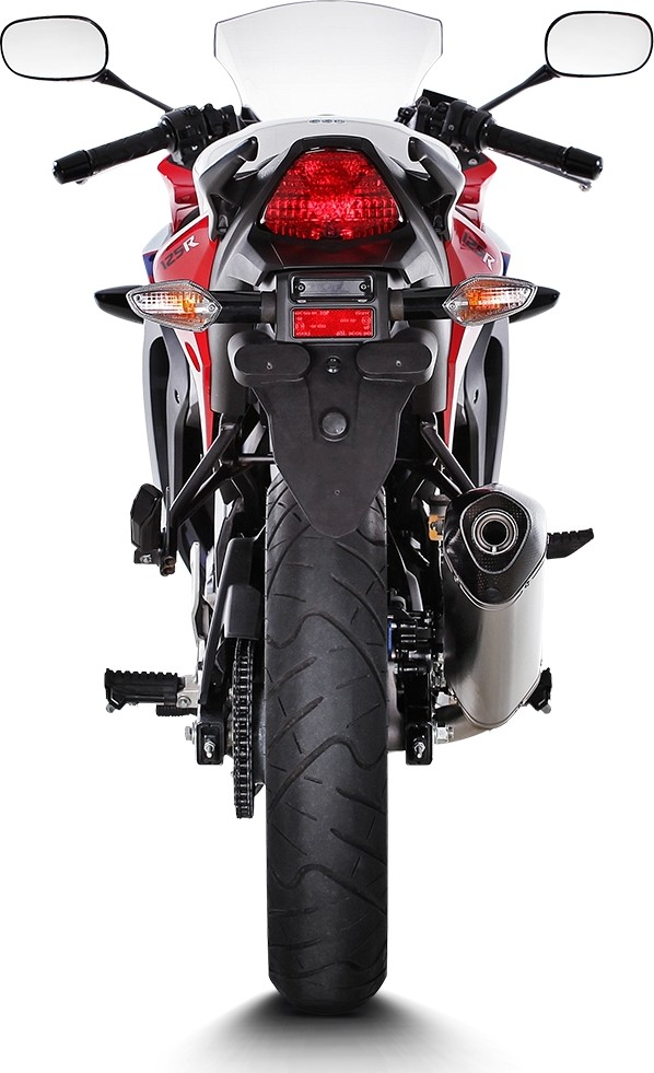 【AKRAPOVIC】e1型式 Racing 鈦合金排氣管尾段  (碳纖維尾蓋消音器)  - 「Webike-摩托百貨」