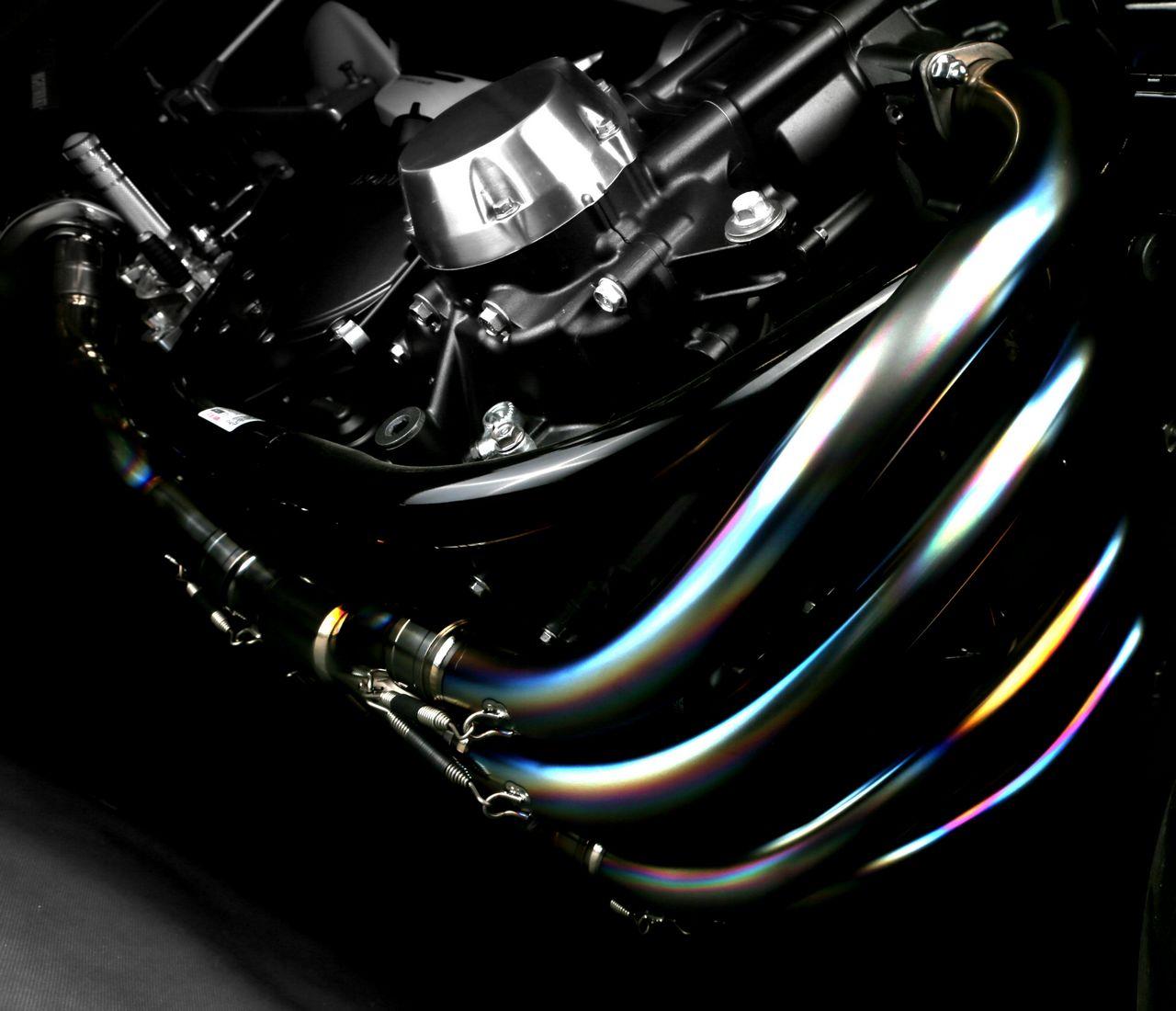 【MORIWAKI】MX REDLINE 全段排氣管 黑珍珠色 - 「Webike-摩托百貨」