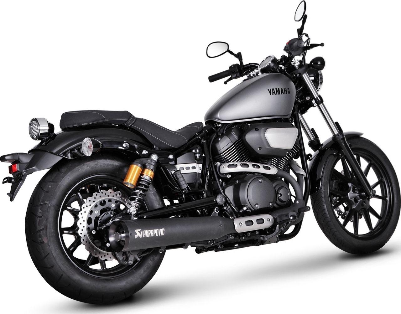 【AKRAPOVIC】不鏽鋼排氣管尾段(黑色) - 「Webike-摩托百貨」