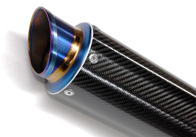 【MAVERICK】MV83 M1碳纖維消音器(斜線切割造型) - 「Webike-摩托百貨」