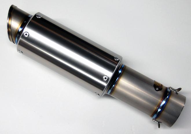 【MAVERICK】MV83 M1鈦合金消音器(斜線切割造型) - 「Webike-摩托百貨」