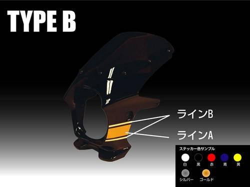 【World Walk】DS-01専用貼紙 TYPE B - 「Webike-摩托百貨」