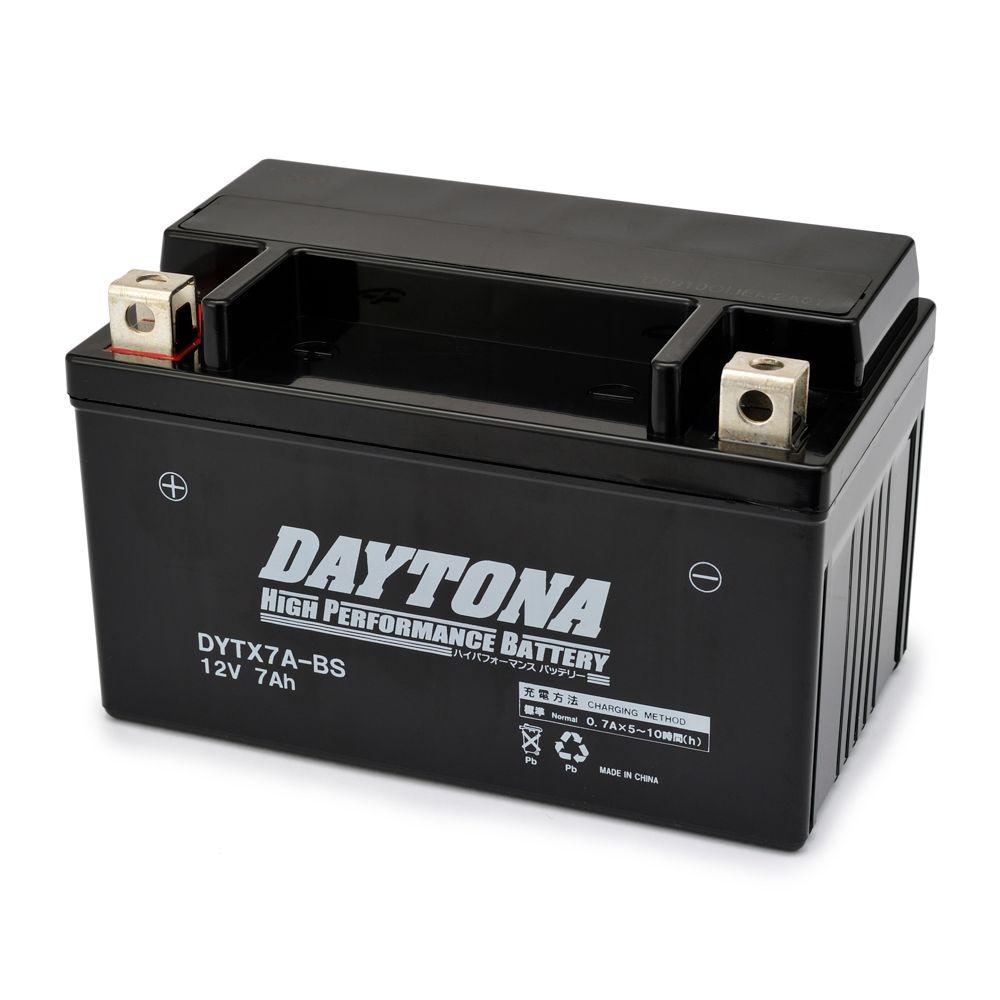 ハイパフォーマンスバッテリー 液入り充電済 【DYTX7A-BS】