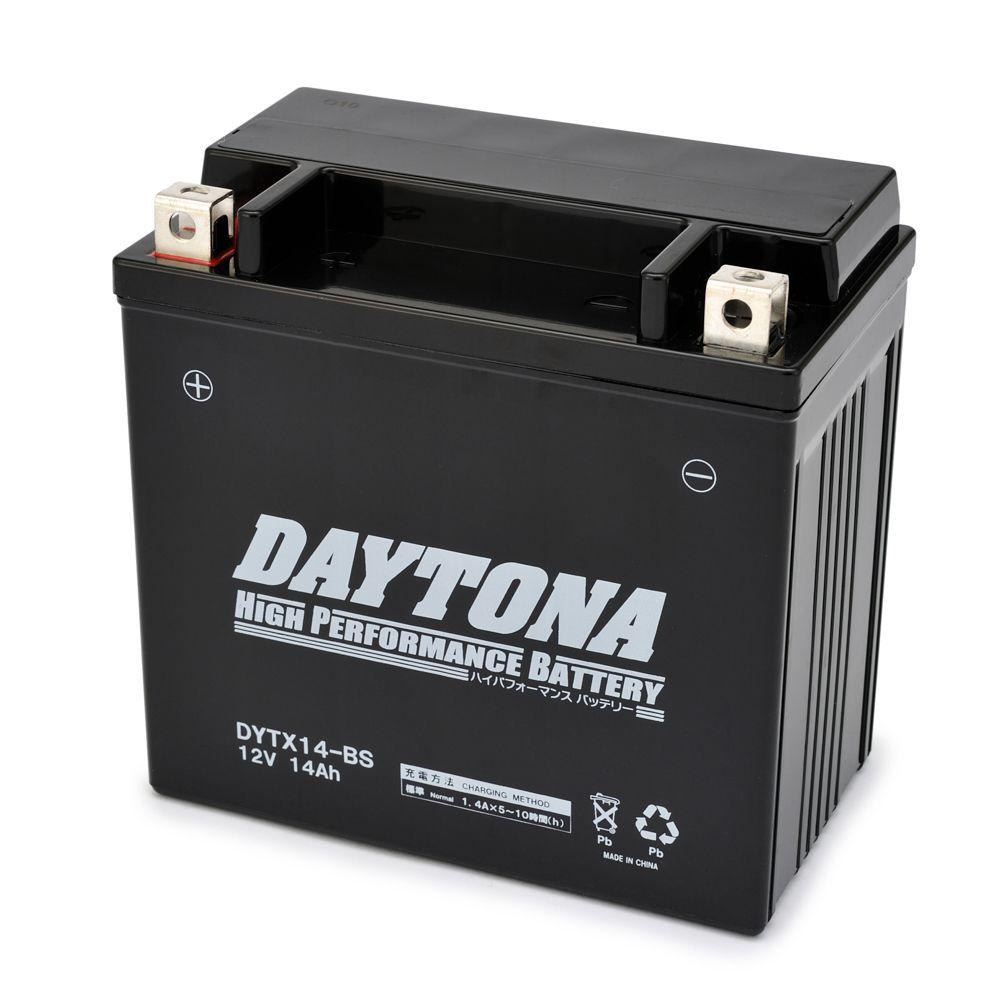 ハイパフォーマンスバッテリー 液入り充電済 【DYTX14-BS】