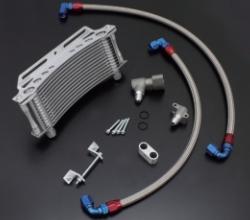 【EARLS】環繞式機油冷卻器(油冷排)全組改裝套件 [黑色油管外蓋式樣] - 「Webike-摩托百貨」