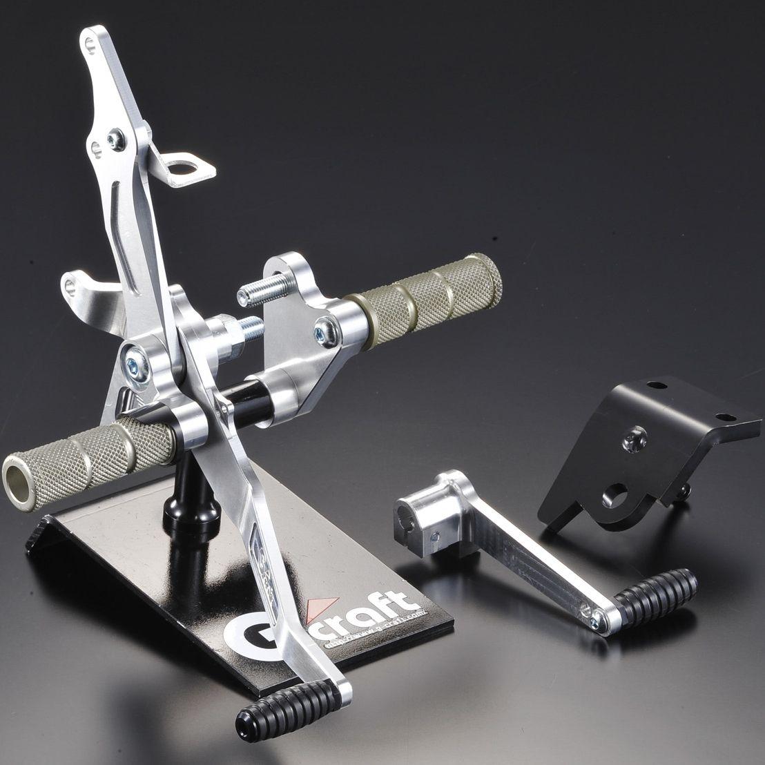 【G-Craft】腳踏後移套件 碟式煞車專用 - 「Webike-摩托百貨」