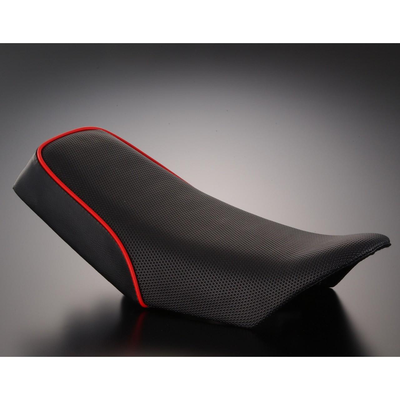 【G-Craft】Custom 坐墊 MX (黑色/紅色滾邊) - 「Webike-摩托百貨」
