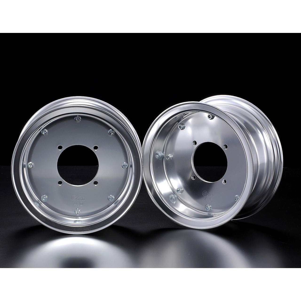 【G-Craft】4.0J 封閉型式 銀色8英吋寬版輪框 4.0J(無開孔) - 「Webike-摩托百貨」
