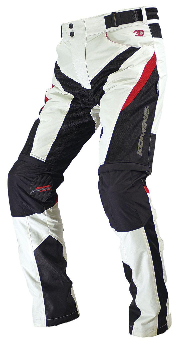 PK-729 Protect Riding Mesh Pants 3D KOMINE