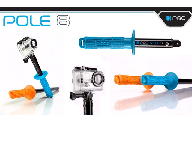 【UKPRO】POLE 8/GoPro専用握桿 - 「Webike-摩托百貨」