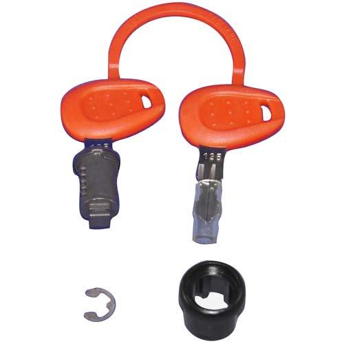 【YAMAHA】行李箱用維修用零件 Wise Gear鎖Assy - 「Webike-摩托百貨」