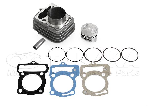 【田中商會】Ape 50cc用 80cc 加大缸徑套件 鋁合金汽缸 - 「Webike-摩托百貨」