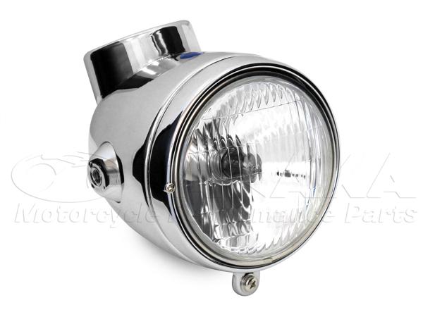 【田中商會】4L Type 鋼製頭燈整組/電鍍 - 「Webike-摩托百貨」