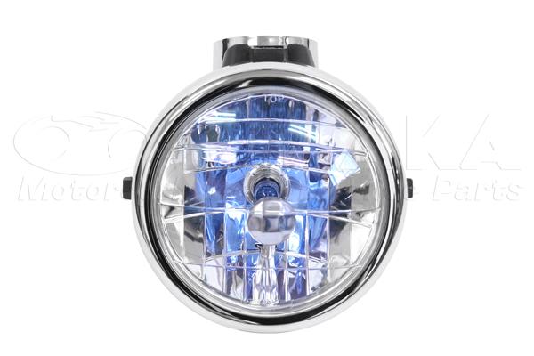 【田中商會】晶鑽型頭燈 (電鍍) - 「Webike-摩托百貨」