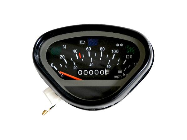 【田中商會】140km/h 儀錶 (黑色面板) - 「Webike-摩托百貨」