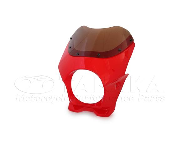 【田中商會】頭燈整流罩 (紅色) - 「Webike-摩托百貨」