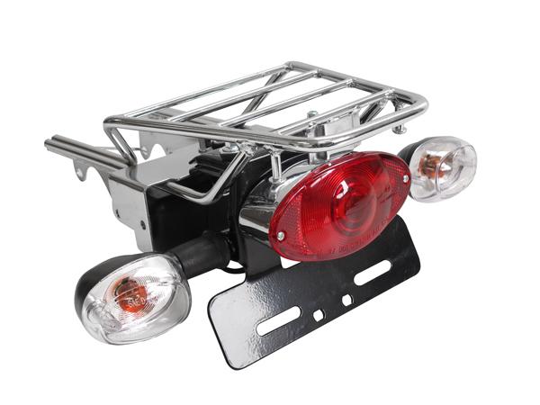 【田中商會】Monkey用 原廠型後貨架 Cat's Eye 尾燈&方向燈組 - 「Webike-摩托百貨」