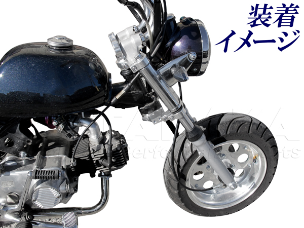 【田中商會】鋁合金製 Φ26前叉內管用 角度調整式三角台 - 「Webike-摩托百貨」