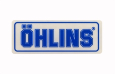 【OHLINS】競賽型貼紙 - 「Webike-摩托百貨」