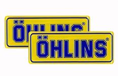 【OHLINS】OHLINS Racing 貼紙 - 「Webike-摩托百貨」