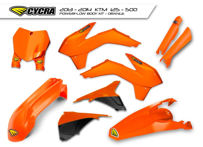【CYCRA】Power Flow Intake 越野車用外裝套件 - 「Webike-摩托百貨」