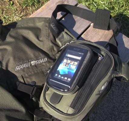 【ROUGH&ROAD】F-智慧型手機槍背袋 - 「Webike-摩托百貨」