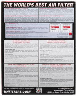 【K&N】SU-6505 可更換型空氣濾芯 - 「Webike-摩托百貨」