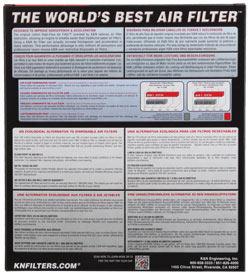 【K&N】YA-6006 可更換型空氣濾芯 - 「Webike-摩托百貨」