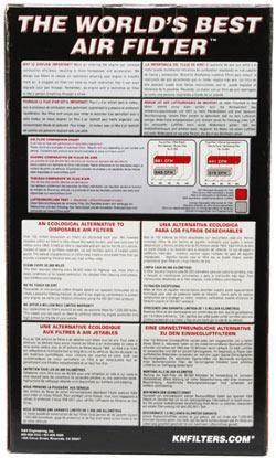 【K&N】RU-1520 通用型空氣濾芯 (橢圓形柱狀) - 「Webike-摩托百貨」