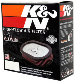 【K&N】可更換型空氣濾芯 - 「Webike-摩托百貨」