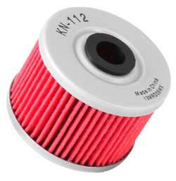 【K&N】KN-112 機油濾芯 - 「Webike-摩托百貨」