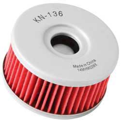 【K&N】KN-136 機油濾芯 - 「Webike-摩托百貨」