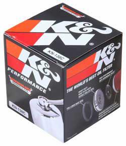 【K&N】KN-138C 機油濾芯 - 「Webike-摩托百貨」