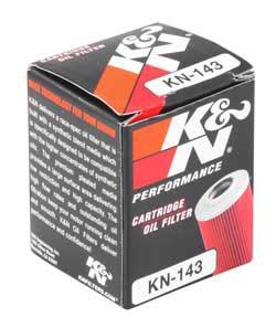 【K&N】KN-143 機油濾芯 - 「Webike-摩托百貨」