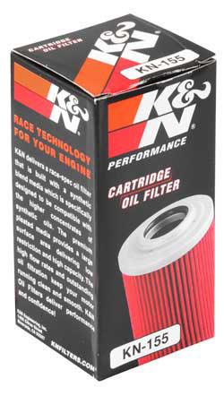 【K&N】KN-155 機油濾芯 - 「Webike-摩托百貨」
