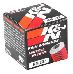 【K&N】KN-207 機油濾芯 - 「Webike-摩托百貨」