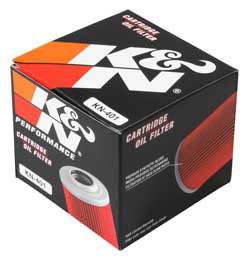 【K&N】KN-401 機油濾芯 - 「Webike-摩托百貨」
