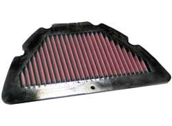 【K&N】YA-1004 可更換型空氣濾芯 - 「Webike-摩托百貨」