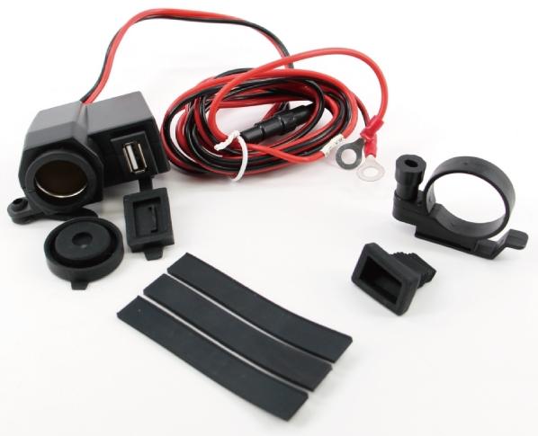 【MADMAX】摩托車、卡車用 防水USB/點煙器插座 12V-24V 安裝組 - 「Webike-摩托百貨」