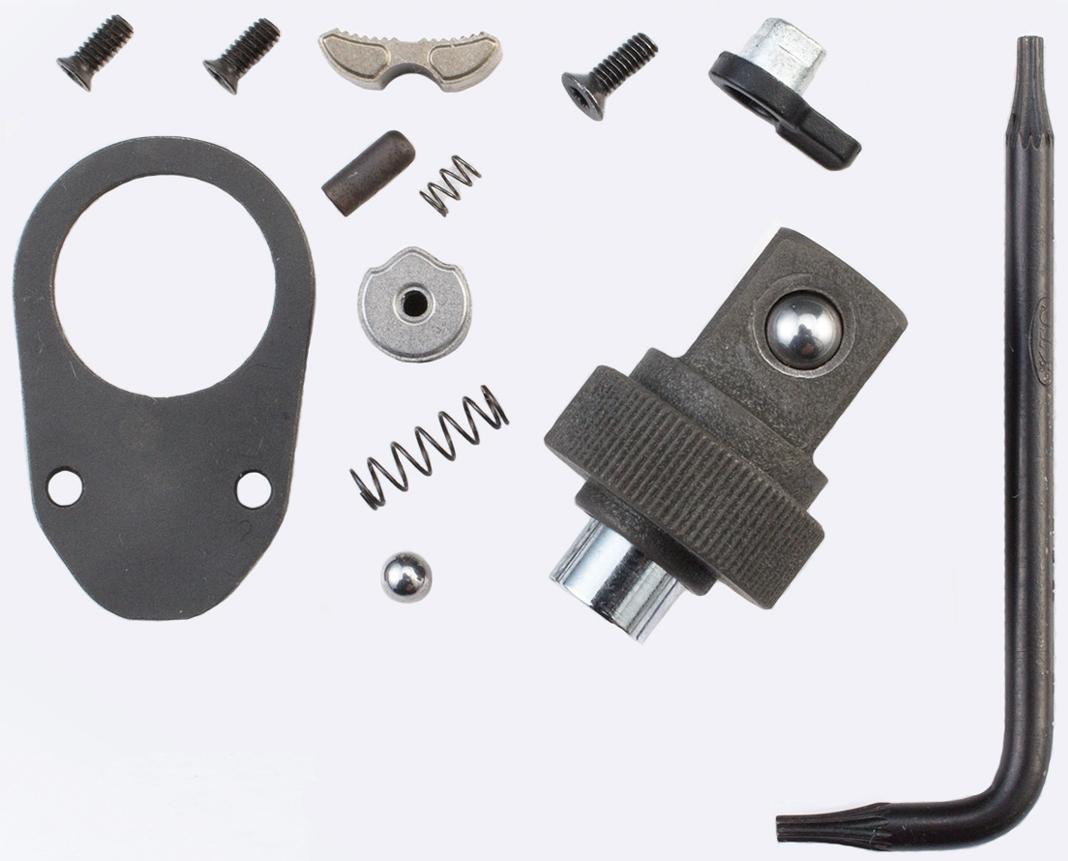 【Nepros】9.5sq. 簡易型棘輪扳手 棘輪頭維修套件 (附星型內六角L扳手) - 「Webike-摩托百貨」