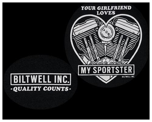 【Neofactory】Biltwell Girl friendT恤 - 「Webike-摩托百貨」