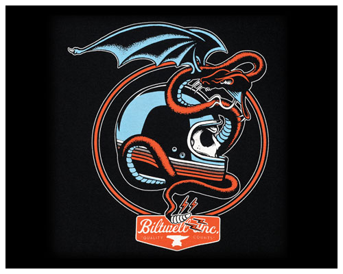 【Neofactory】Biltwell SerpentT恤 - 「Webike-摩托百貨」