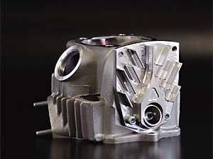 【AUTO BOY】雙火星塞HP汽缸頭 - 「Webike-摩托百貨」