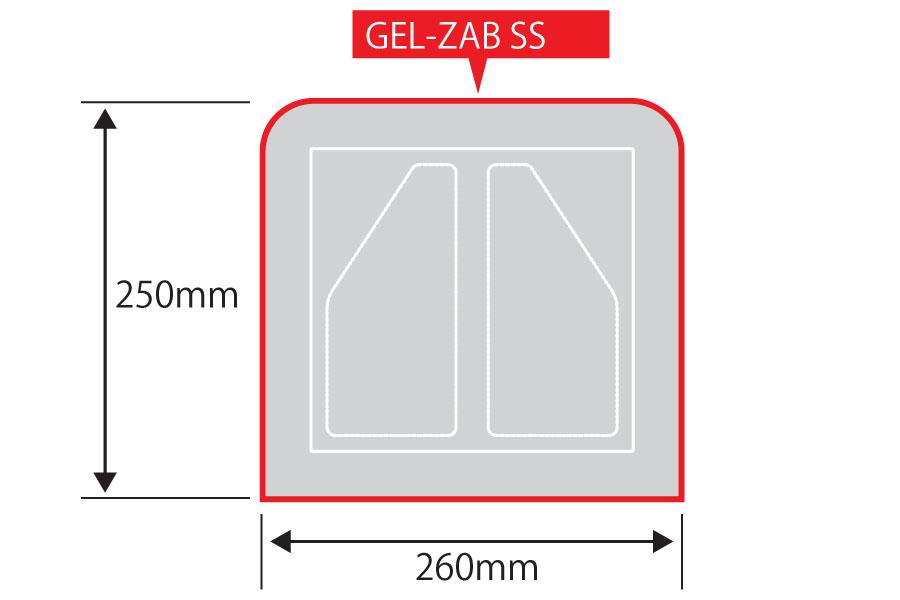【EFFEX】GEL-ZAB SS 內置式舒適坐墊 - 「Webike-摩托百貨」