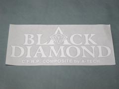 【A-TECH】Black Dimond 貼紙 2 - 「Webike-摩托百貨」